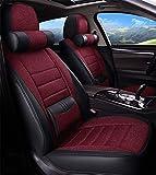 YGLight Las Bolsas de Aire Compatible Completo Juego de Ropa de Coches Cojín 10 Piezas Set - Ropa sobre-Transpirable Universal Cubierta del Asiento Airbag Compatible for Audi Buick Ford VW 95%