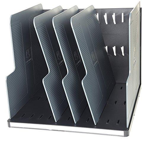 Exacompta Ecoblack Module de classement 30 x 28,80 x 25,50 cm Noir/Gris Souris