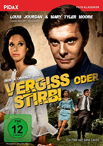 Vergiss oder stirb (Run a Crooked Mile) / Spannender Thriller in der Tradition Hitchcocks (Pidax Film-Klassiker)