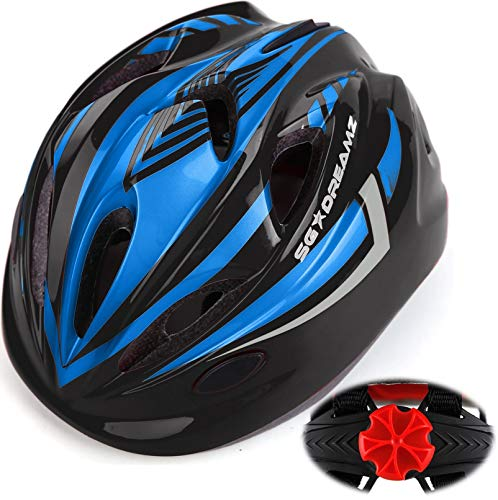 child bike helmets Kids Bike Helmet for Bicycle Cycling, Skateboard, Scooter – Adjustable Harness from Age 3 to 7 for Head Size 19.6-22 inch - Durable Toddler Kid Bicycle Helmets Boys and Girls Will Love