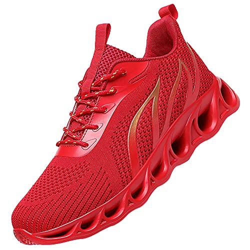 Zapatos para Correr Gimnasio Sneakers Deportivas Padel Transpirables Casual