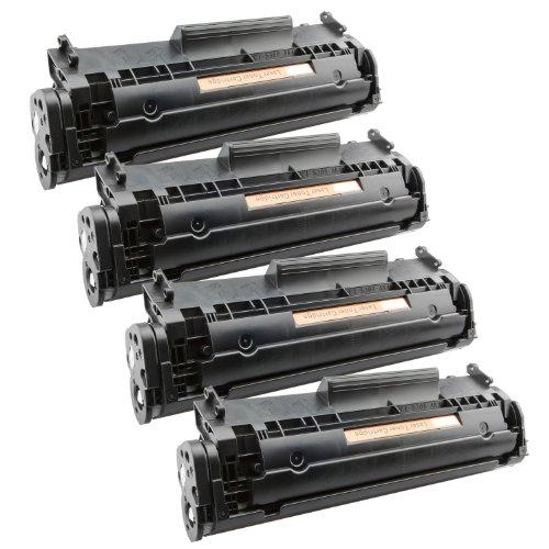 Tito-Express PlatinumSerie 4 Toner XXL Schwarz für Canon FX-10 I-Sensys MF4010 PC-D440 PC-D450 Telekom Fax 900
