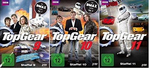 Top Gear - Staffel 9+10+11 (9+11) * DVD Set / DMAX