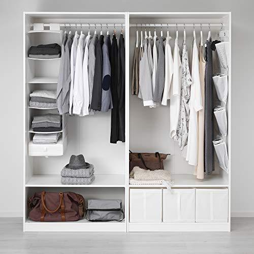 PAX szafa na ubrania 200 x 58 x 201,2 cm biała