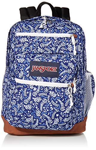 JANSPORT Cool Student, One Size, Blue Ditsy