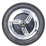 DYRABREST 36V/48V Brushless Gearless Hub Motor Wheel Motor for E-Bike Scooter Motorcycle, 350W 12 Inch E-Bike Cycling Hub Conversion Kit (US Stock) (48V)