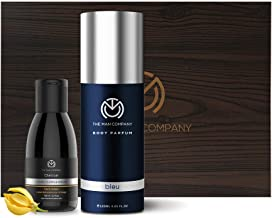 The Man Company Refresher Combo (Bleu Body Perfume, Charcoal Face Wash)