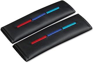 Cuscinetti Cintura Sicurezza di Fibra Carbonio Tracolla Imbottiture Accessori Degli Interni Auto 2pcs Copri Cintura di Sicurezza Auto per Bmw 116 118 320 330 i 320 520 525 530 730 740 Li All Models