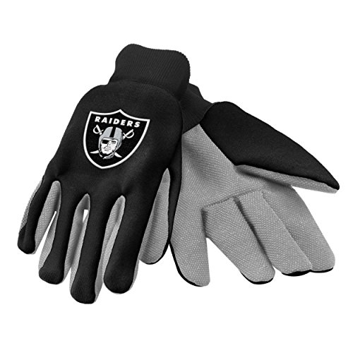 Forever Collectibles 74204 NFL Oakland Raiders Colored Palm Glove