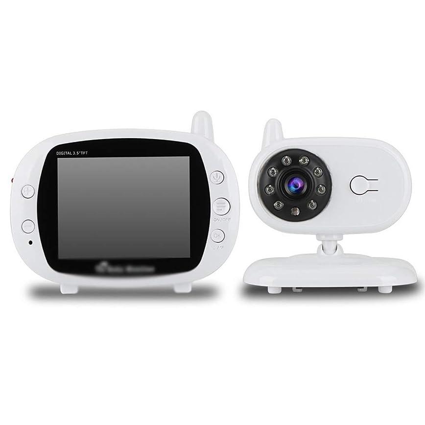 問題低下従事したカメラ カメラとナイトビジョン付きベビーモニター、3.5インチベビーケアデバイスナイトビジョンモニターベビーケアデバイスベビーモニター カメラ