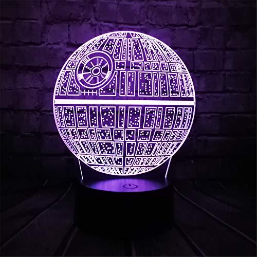 3D Usb Led Lampe 7 Couleurs Change Astro Bande Dessinée Ballon De Couleur Coloré Ampoule Ambiance Lave Nuit Veilleuse Éclairant Des Cadeaux
