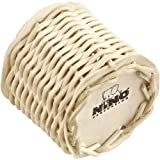 Nino Percussion NINO521 Small Ganza Shaker, Rattan