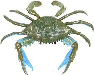TOYANDONA Lifelike Crab Toy Artificial Crab Model Ocean Sea Marine Animal Model Figures Educational Toy for Boys Girls Kid...