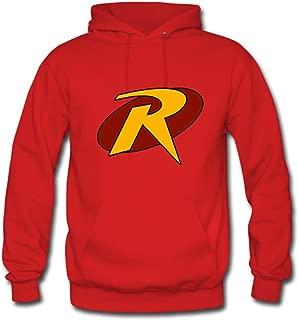 Youth Boy Men Nico Robin Pullover Sweatshirt XS Red