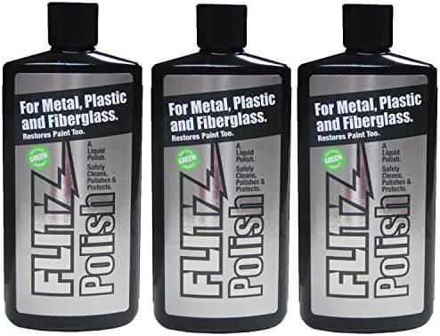 Flitz Multi Purpose Polish and Cleaner Liquid for Metal Plastic Fiberglass Aluminum Jewelry product image