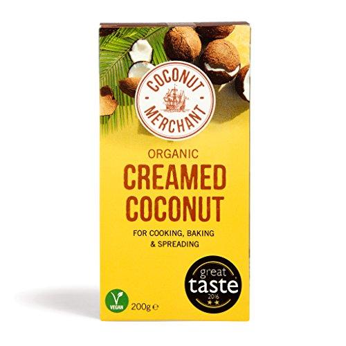 Coconut Merchant Organic Creamed Coconut 200g (confezione da 1)