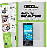 dipos I 2X Schutzfolie matt kompatibel mit BlackBerry Priv Folie Bildschirmschutzfolie