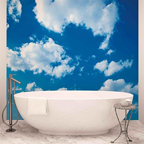 Wolken Himmel Natur - Forwall - Fototapete - Tapete - Fotomural - Mural Wandbild - (1992WM) - XXXL - 416cm x 254cm - VLIES (EasyInstall) - 4 Pieces