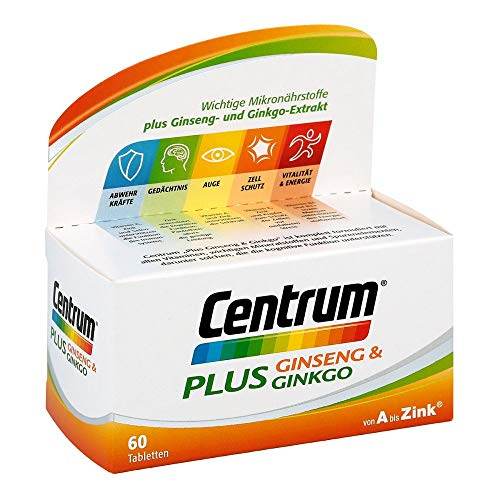 Centrum Plus Ginseng & Ginkgo Tabletten