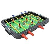 Portátil Mini Foosball/Mesa de fútbol Kit de Juego con Puntuación, Familia Recolección de Adultos y Niños Tabla Top Ocio y Entretenimiento