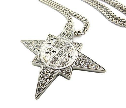 Shiny Jewelers USA Mens Gold 7 Star 5 Percenter...