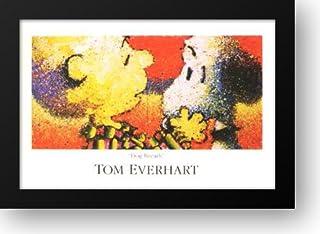 Dog Breath 40x28 Framed Art Print by Everhart, Tom