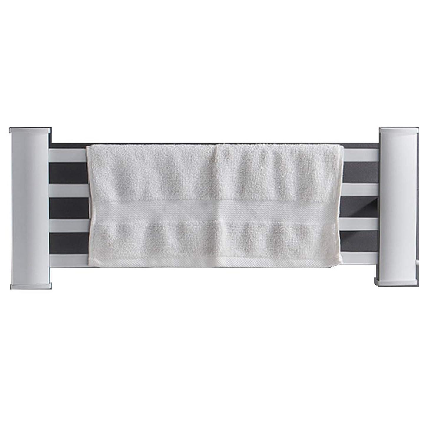 ベテランサーカス旋律的浴室タオル掛け45With 80With 120Wの世帯スペースアルミニウム電気タオル掛けの理性的な温度調整タオルのドライヤーの浴室の棚
