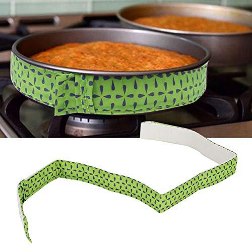 Hornee la Banda Uniforme, 5 Minutos en Agua fría Antes de Usar, para Evitar Que se cocine Demasiado.(Black Green 78043B)