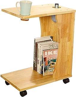 Tables HAIZHEN Pliable Snack Amovible Côté End Couch Console Bureau D'ordinateur Portable pour Lit Canapé Manger Écriture ...