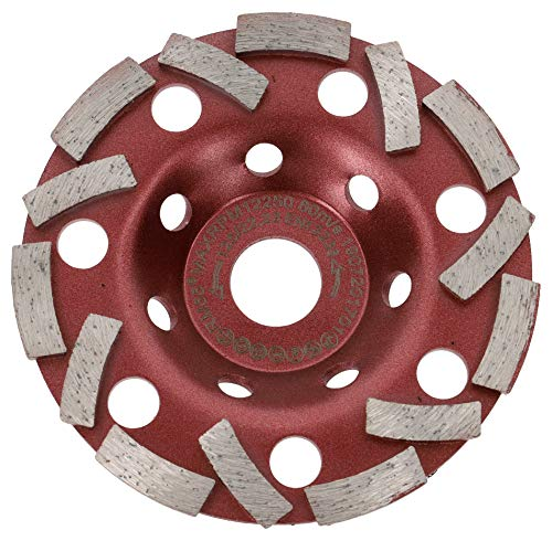 PRODIAMANT Premium Diamantschleiftopf Extra Speed Beton universal 125 mm x 22,2 mm
