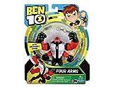 Figurita de acción de la serie de dibujos Ben 10, plástico, Ben 10 - Figuras de acción (4 brazos)...