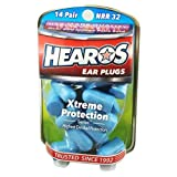 Hearos Ear Plugs Xtreme Protection Series 14 pairs ( Pack of 3)