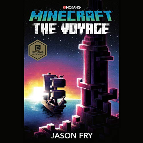 Minecraft: The Voyage audiobook cover art