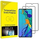 JETech Schutzfolie für Huawei P30, Panzerglas Bildschirmschutzfolie, 2 Stück
