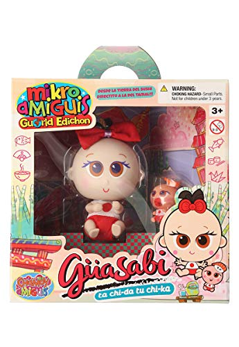 Ksimerito Edition in Spanish Nerlie Distroller Neonate MAC /& CHIS Mikro Amiguis Baby Doll World Edition
