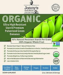 ORGANIC GREEN BANANA STARCH, HIGH IN RESISTANT STARCH - A SINGLE INGREDIENT FOOD