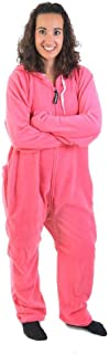 Forever Lazy Non-Footed Adult Onesies   One-Piece Pajama Jumpsuits for Men and Women   Unisex