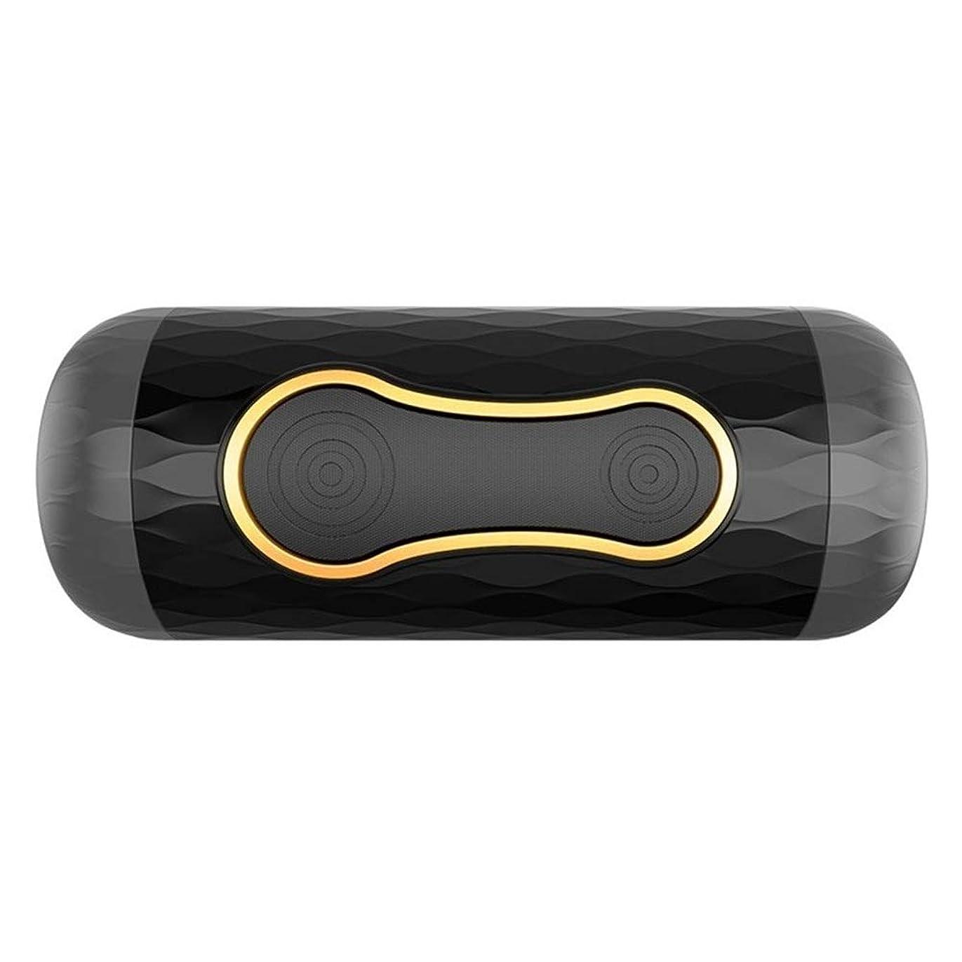 ブラウン正気機動非電動男性用マッサージテレスコピックサクティオンカップエキサイティングなおもちゃ、