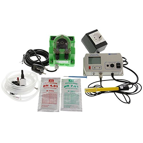 Contrôleur/Régulateur de pH Auto avec Pompe doseuse 1,5L/h Milwaukee (MC720)