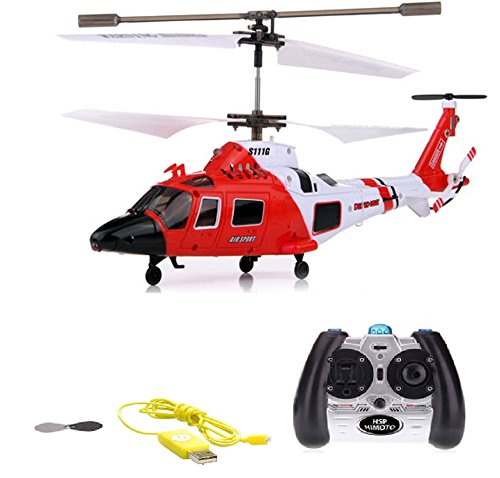 HSP Himoto 3.5 Kanal RC ferngesteuerter Hubschrauber-Modell, Gyro Stabilisierungs-Technik, Heli-Modellbau, Ready-to-Fly