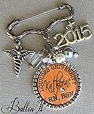 Nursing Pinning Ceremony, RN pin, RN jewelry, Nurse Graduation, RN brooch, Nurse graduate, Class of 2021, caduceus BSN RN, Lpn, Cna, NP, school name, school colors