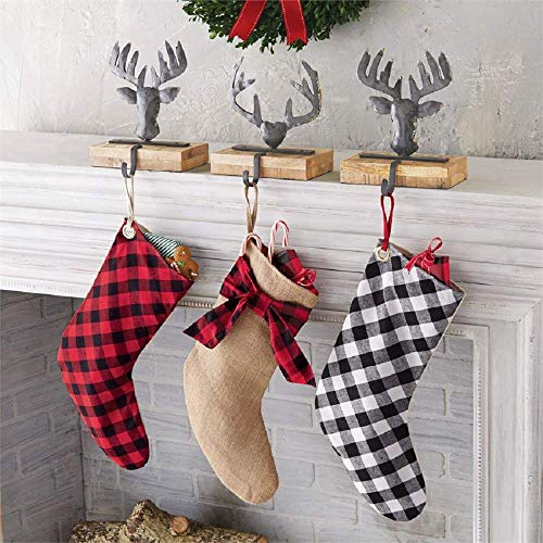mud pie burlap stocking - 3