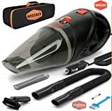 Woscher Car Vacuum Cleaner-2003,Corded High Power for Quick Car Cleaning, DC 12V, 140W