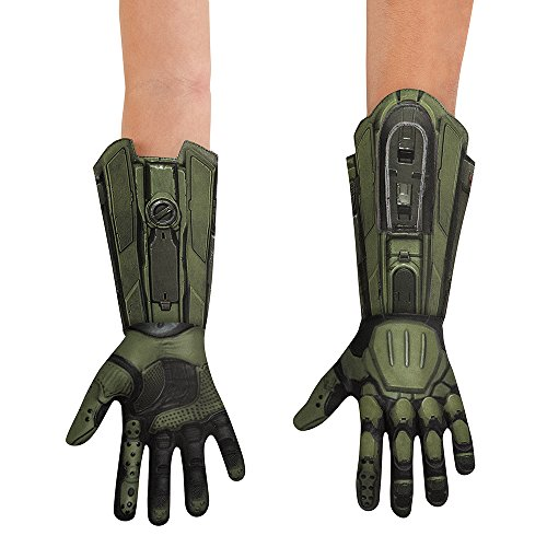 Halo Master Chief Deluxe Costume Gloves Adult One Size