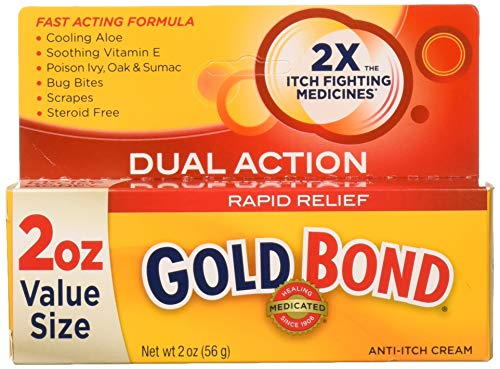 Gold Bond Rapido sollievo Anti Itch Cream, 2 oz tubo