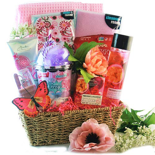 pamper gift baskets Pamper Me Pink - Spa Gift Basket