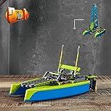 Immagine 2 lego technic catamarano set di