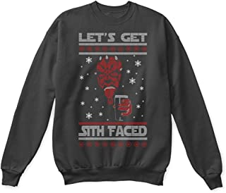 Star Wars Let's Get Sith Faced Funny Ugly Christmas Sweater