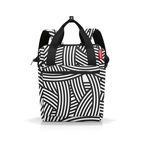 Reisenthel Allrounder Luggage- Carry-On Luggage R Black-and-White