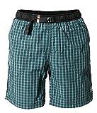 REJOICE Kurze Hose Herren Moth Shorts Boulderhose für Damen und Herren – Outdoorhose für bewegungsfreies Bouldern, Klettern, Trekking, Wandern - K190, Petrol, M